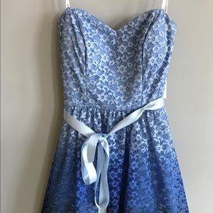 B Darlin Ombré Lace Dress!